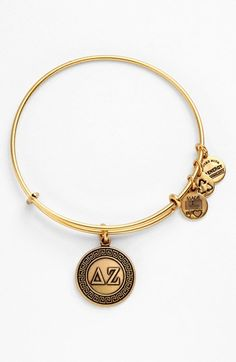 Alex and Ani 'Delta Zeta' Expandable Wire Bangle | Nordstrom