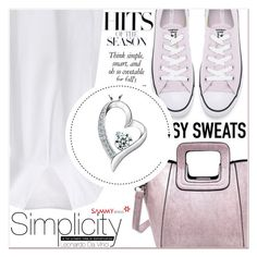 """""""Softly feeling"""" by lucky-1990 ❤ liked on Polyvore featuring Converse"""