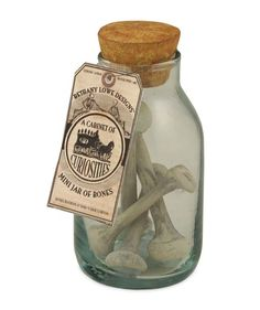 A little jar of bones perfect for all your apothecary needs. Brew up a potion or two with this must have Halloween ingredient. Get your spooky Halloween apothecary together with ingredients including