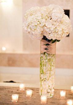 Centros de mesa: Una boda chic y cosmopolita.