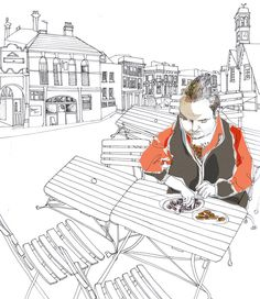 Wimbledon Village by Diana Boyle, via Behance Wimbledon Village, Pin Collection, Home Art, The Balm, Playing Cards, Behance, Diana, Inspiration, Infographics