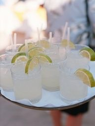 Refreshing Drinks for Destination Wedding in Mexico / Planner: Amy Nichols Special Events / Photo: Union Photography