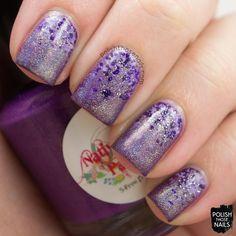 Polish Those Nails: The Nail Challenge Collaborative - Purple #2