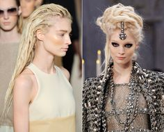 High Fashion Dreadlocks: Chanel and Max Mara's Bold Runway Trend - Harper's BAZAAR