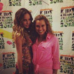 Belinda en los Kids Choice Awards Mexico 2012 - Press Room 02
