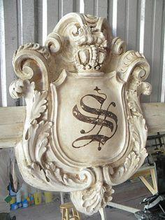 "love this ""relic"" love me some architectural pieces.  danddinteriordesign.com"
