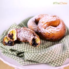 Carla Hall & Clinton Kelly's Stuffed #Crullers #TheChew