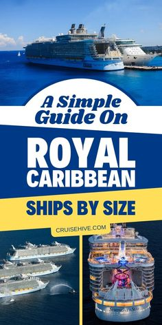 Royal Caribbean cruise tips on ship sizes including the Symphony of the Seas and Liberty of the Seas. The biggest all the way down to the smallest cruise ship. #cruisehive #royalcaribbean #cruise #cruisetips #cruiseship #travel #traveltips #vacation #royalcaribbeancruise