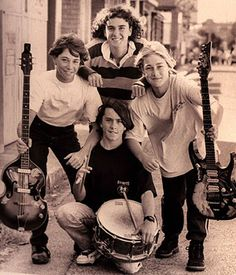 Silverchair - this is the cutest picture! LoL.