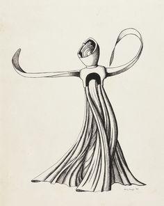 Figure (1943) - Kay Sage