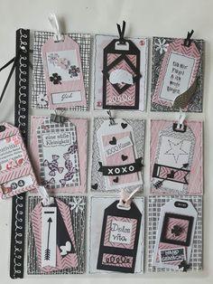 Pocket Letter Atc Cards, Card Tags, Journal Cards, Scrapbook Paper Crafts, Scrapbook Albums, Scrapbook Cards, Paper Crafting, Pocket Pal, Pocket Cards