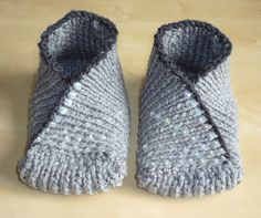 Kimono Slipper Socks  http://www.etsy.com/listing/72610372/kimono-slipper-socks-hand-knit-in-pebble
