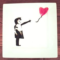 Banksy Food Art by Harley Langberg