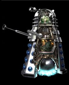 Doctor Who Dalek cutaway by Peter Mckinstry via Behance Arte Doctor Who, Doctor Who Dalek, Doctor Who Fan Art, The Doctor, Call Doctor, Second Doctor, Eleventh Doctor, Crossover, Arte Robot