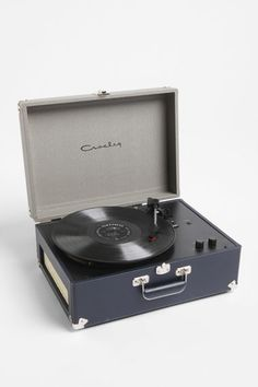 Crosley AV Tragbarer Tweed-Plattenspieler EU  Urban Exclusive