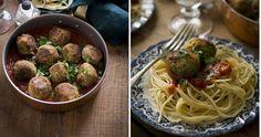 Te invitamos a probar la versión vegetariana de los espaguetis con albóndigas que nos traen desde el blog CONTIGO EN LA PLAYA! Las albóndigas son de berenjena.