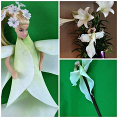 White Easter Lily Fairy