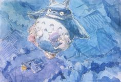 Illustrations by Hayao Miyazaki