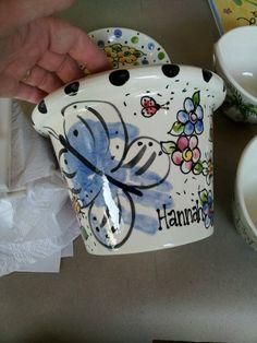 Printed flowerpot