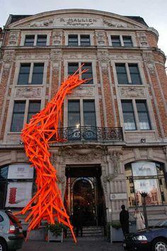 Arne Quinze at Galerie Pierre Bergé & Associés