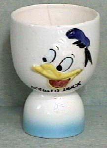 Vintage Disney Donald Duck Egg Cup