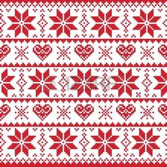 If you want to make Norwegian knitting pattern sweater, there are several things to do. Those are guiding you to create a right knitting product espec. Nordic Christmas, Christmas Knitting, Christmas Sweaters, Norwegian Christmas, Christmas Design, Red Christmas, Fair Isle Chart, Fair Isle Pattern, Card Patterns