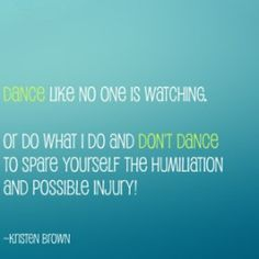 don't dance quote