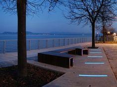 Conheça projetos de parques e praças em diferentes países e explore o potencial do mobiliário urbano.