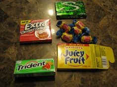 Science Fair Project: Which Chewing Gum Lasts the Longest? One of the choices for my science fair project School Science Projects, Elementary Science, Science Experiments Kids, Science Classroom, Science Lessons, Teaching Science, Science For Kids, Science Activities, Projects For Kids