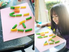 Sight Words with Pasta (Preschool Activity) from http://learncreatelove.com
