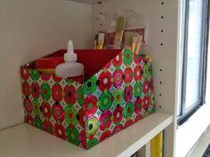 Reciclaje: de caja de zapatos a organizador (paso a paso)