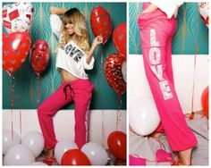 Sugarbird Valentine's Day Collection by Dukai Regina Leather Pants, Valentines, Exercise, Collection, Style, Fashion, Leather Jogger Pants, Valentine's Day Diy, Ejercicio