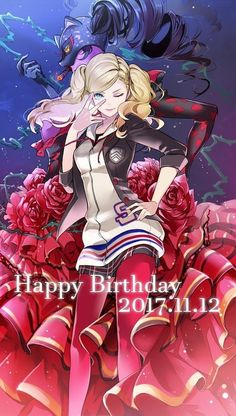 The Birthday Celebrations are Far From Over! : Persona5