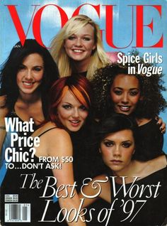 SPICE GIRLS VOGUE