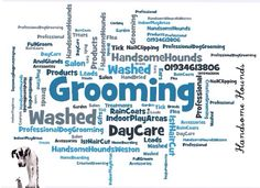 Handsome Hounds  Professional Dog Grooming Studio/Day Care  Weston-Super-Mare www.handsomehoundsweston.co.uk  01934 613806