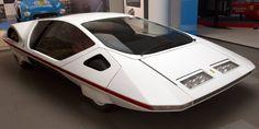 1970 Ferrari Modulo (Pininfarina). Design research prototype. [2560 x 1280]