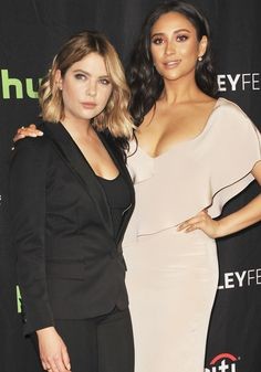 Shay reunites with her co-star and offscreen BFF Ashley Benson