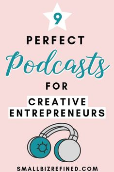 Looking for some business inspiration? These 9 podcasts are perfect for entrepreneurs, creatives, and side hustlers. They feature stories from business owners (handmade businesses, Etsy sellers, and more!) about how to start and grow an online business. Citation Entrepreneur, Business Entrepreneur, Business Marketing, Online Marketing, Internet Entrepreneur, Content Marketing, Affiliate Marketing, Internet Marketing, Media Marketing