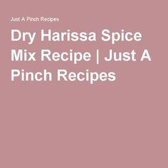 Dry Harissa Spice Mix Recipe   Just A Pinch Recipes