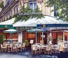 Les Deux Magots www.girlsguidetoparis.com