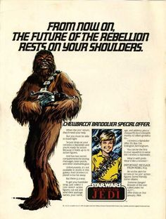1983 - Star Wars  Chewbacca Bandolier.