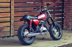 Honda CB100 Mini Bobber Custom by Abiem