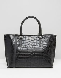 Armani+Jeans+Croc+Style+Tote+Bag