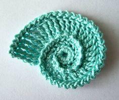 Sea Shell Crochet Pattern by GoldenLucyCrafts on Etsy