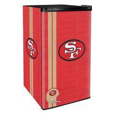 Boelter Brands NFL 3.2 cu. ft. Compact Refrigerator NFL Team: 49Ers Legacy