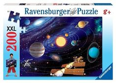 Ravensburger Solar System 200 Piece Puzzle Jigsaw NEW explore Galactic planets