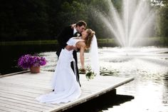 I want this pose on a dock with a fountain!!  Image Detail for - Wedding Photography Warrington : Satisfying Services of Wedding ...