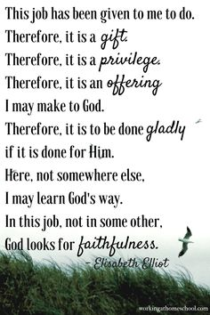 Elisabeth Elliot Encouragement