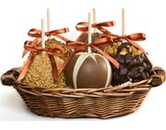 Gourmet Chocolate Candy Caramel Apples, Unique Favors & Gift Ideas (Candy Apples) for Oktoberfest party this year