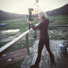 I am the Huntress, but also the prey. #huntress #archery #farmlife #farmersdaughter #upstateny